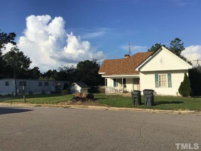 Bunn Single Family Home For Sale: 112 N Franklin Street