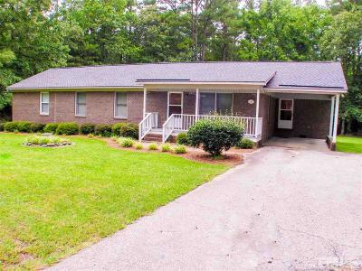 Lillington NC Single Family Home For Sale: $190,000
