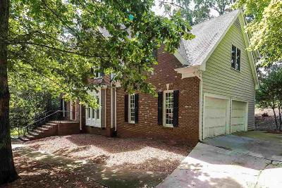 Holly Springs Single Family Home For Sale: 4900 Devils Ridge Court