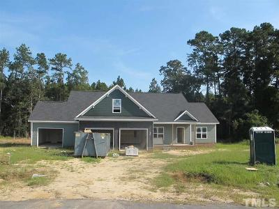 Harnett County Single Family Home Contingent: 136 Reserve Drive