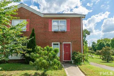 Townhouse For Sale: 520 E Hargett Street
