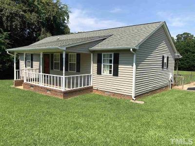 Mebane Single Family Home For Sale: 1105 S Third Street