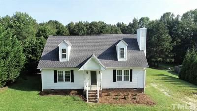 Angier Single Family Home For Sale: 111 Happy Trails Lane