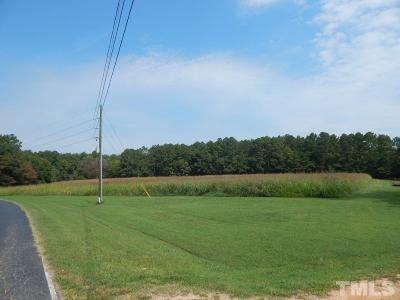 Chatham County Residential Lots & Land Pending: 318 Big Hole Road