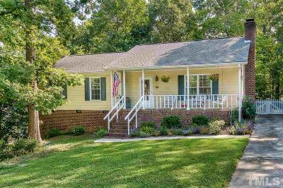 Cary Single Family Home Pending: 1414 Castalia Drive