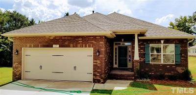 Benson Single Family Home For Sale: 137 Colonade Court #Lot 19