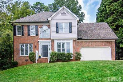 Wake County Single Family Home For Sale: 7409 Pats Branch