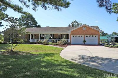 Johnston County Single Family Home For Sale: 210 & 212 Jones Road