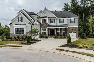 Wake Forest Single Family Home For Sale: 3013 Mountain Hill Drive