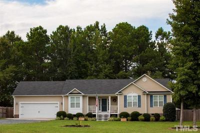 Zebulon Single Family Home Pending: 334 Hunter Lane
