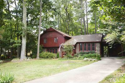 Cary Single Family Home Pending: 1028 Clare Court