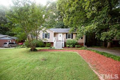 Cary Single Family Home For Sale: 1410 Highland Trail