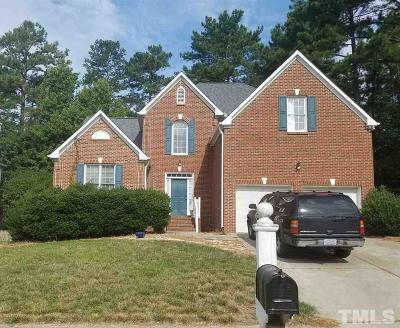 Durham Single Family Home Contingent: 4606 Regency Drive