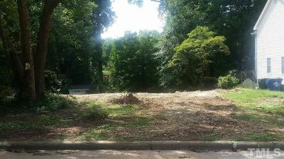 Wake County Residential Lots & Land For Sale: 2125 Pine Drive