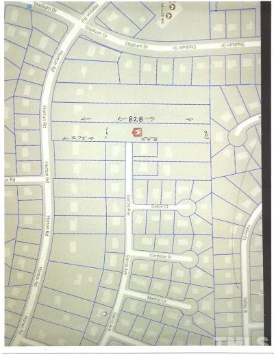 Durham County Residential Lots & Land For Sale: 1102 Horton Road