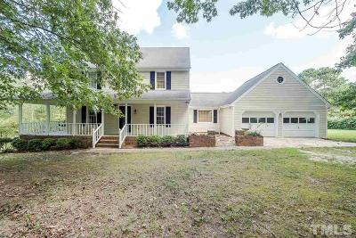 Zebulon Single Family Home For Sale: 1035 Lakeside Farm Road