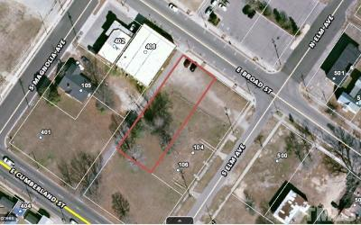 Dunn Residential Lots & Land For Sale: 406 E Broad Street