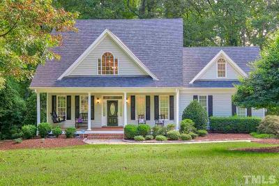 Apex Single Family Home Contingent: 4101 Maple Bottom Drive