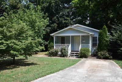 Raleigh NC Rental For Rent: $1,100