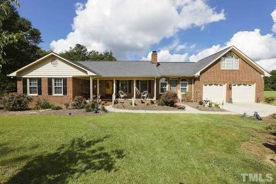Fuquay Varina Single Family Home For Sale: 6909 Christian Light Road