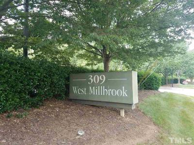 Raleigh Commercial For Sale: 309 W Millbrook Road