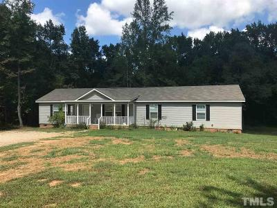 Franklinton Single Family Home For Sale: 4073 Pine Ridge Road