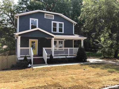 Durham Single Family Home For Sale: 1114 Spruce Street