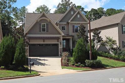 Wake County Single Family Home For Sale: 5815 Faringdon Place