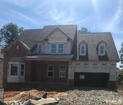Raleigh Single Family Home For Sale: 5281 Aleppo Lane #3