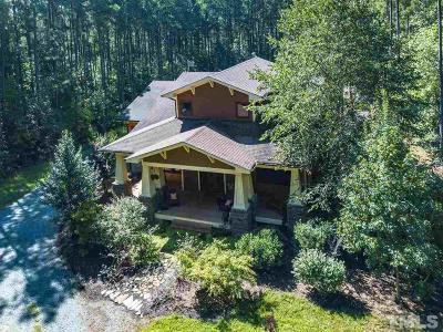 Pittsboro Single Family Home For Sale: 292 Turtle Creek Drive