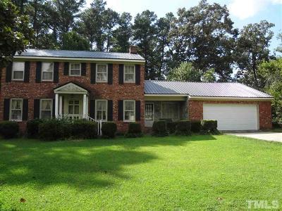 Louisburg Single Family Home For Sale: 203 Lumpkin Boulevard