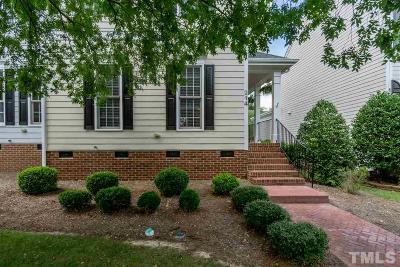 Cary Townhouse For Sale: 214 Presidents Walk Lane