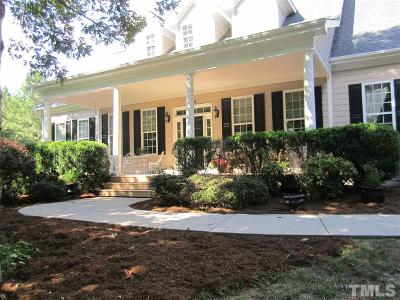 Wendell Single Family Home For Sale: 6844 Pond Road