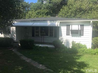 Creedmoor Single Family Home Pending: 2164 Moss Hayes Road
