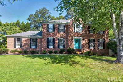 Cary Single Family Home Contingent: 106 Smokemont Drive