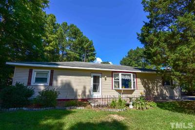 Durham Single Family Home Contingent: 4703 Bragg Road