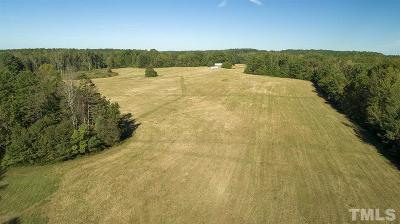 Orange County Residential Lots & Land For Sale: 254 acres New Sharon Church Road
