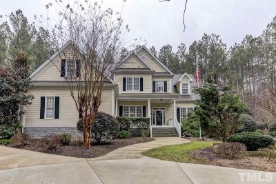 Apex Single Family Home For Sale: 754 Olde Thompson Creek Road