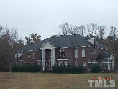 Wendell Single Family Home For Sale: 6324 Old Mill Farm Drive