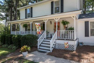 Zebulon Single Family Home For Sale: 806 Carlyle Road