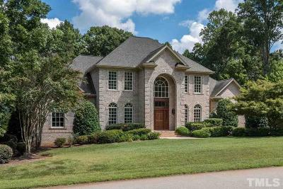 Cary Single Family Home Contingent: 2408 Chelmsford Court
