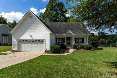 Wake Forest Single Family Home Contingent: 332 Amaryllis Way