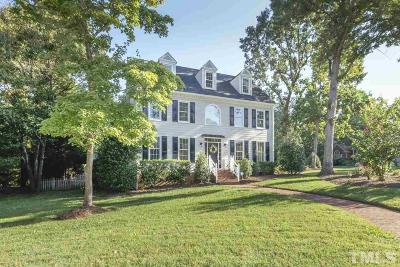 Cary Single Family Home For Sale: 100 Flying Hills Circle