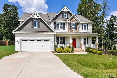 Clayton Single Family Home For Sale: 244 Winding Oak Way