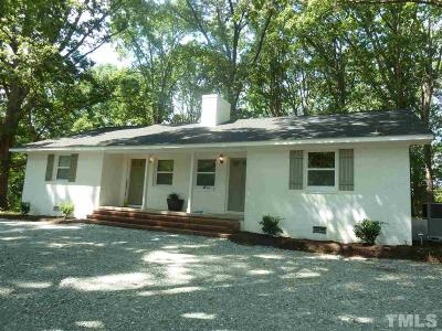 Chapel Hill Multi Family Home Contingent: 1312 Smith Level Road #A & B