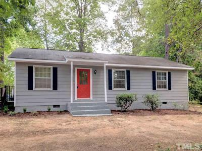 Hillsborough Single Family Home For Sale: 270 Harper Road