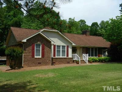 Wake County Single Family Home For Sale: 12521 Ghoston Road
