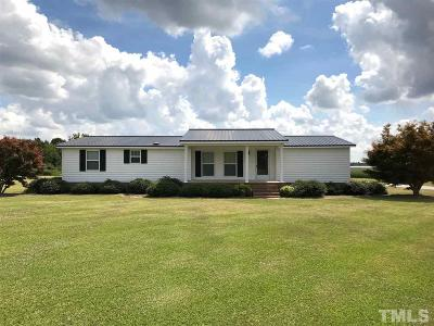 Sampson County Manufactured Home Pending: 1366 Watery Branch Road
