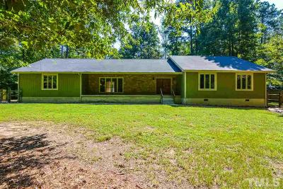 Wake County Single Family Home For Sale: 11408 Hickory Grove Church Road