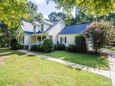 Franklinton Single Family Home Contingent: 3709 Ben Mil Court